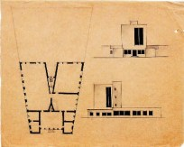 K. Knyazev. Supervisor N. Kolli. District Library and Lyceum in the Capital of the USSR. 1924 a