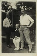 Mayakovsky with Rodchenko and Shklovsky