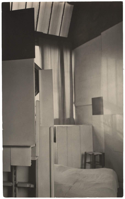 "Mondrian's Studio Negative Date 1926 Print Date 1926–27 Medium Gelatin silver print Dimensions Image 4 3_16 x 2 5_8"" (10.7 x 6.6 cm)"
