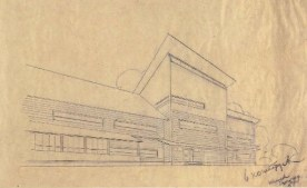 N. Kolpakova. Holiday Home for Conductor Teams for 52 Persons. 3rd year. 1930 a
