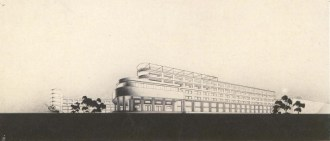 R. Khiger. Academy of Communal Economy. Competition project. 1930s. Photos
