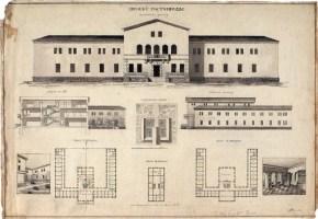 S. Abramova. Supervisor E. Norvert Hotel. 1921