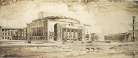 S. Ostrovskaya. Institute of Choreography. Last course project. 1935