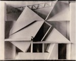 V. Krinsky. Podium. Experimental project. Model. 1921