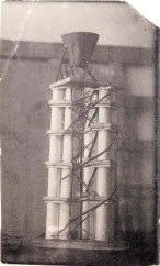Yu. Spassky. N. Ladovsky's workshop Grain Elevator. Revelation and expression of form. 1922 Photo