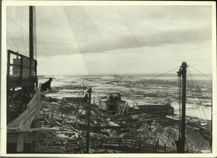 Margaret Bourke-White, View fr. hillside vantage point of the industrial spawl of Magnitogorsk (1931)