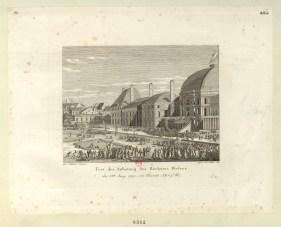 Fest der Anbetung des Höchsten Wesens - den 8.ten Juny 1794... - [estampe] _ Gez. v. Duplessi Bertaux ; Gest. v. Jos. Hutter 1816