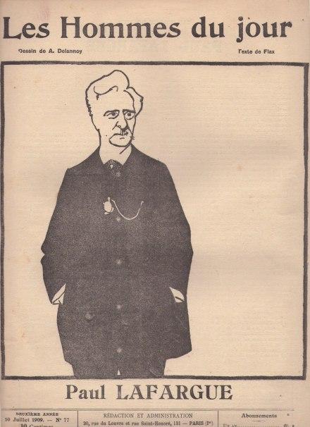 Paul Lafrgue Hommes du Jour 1909