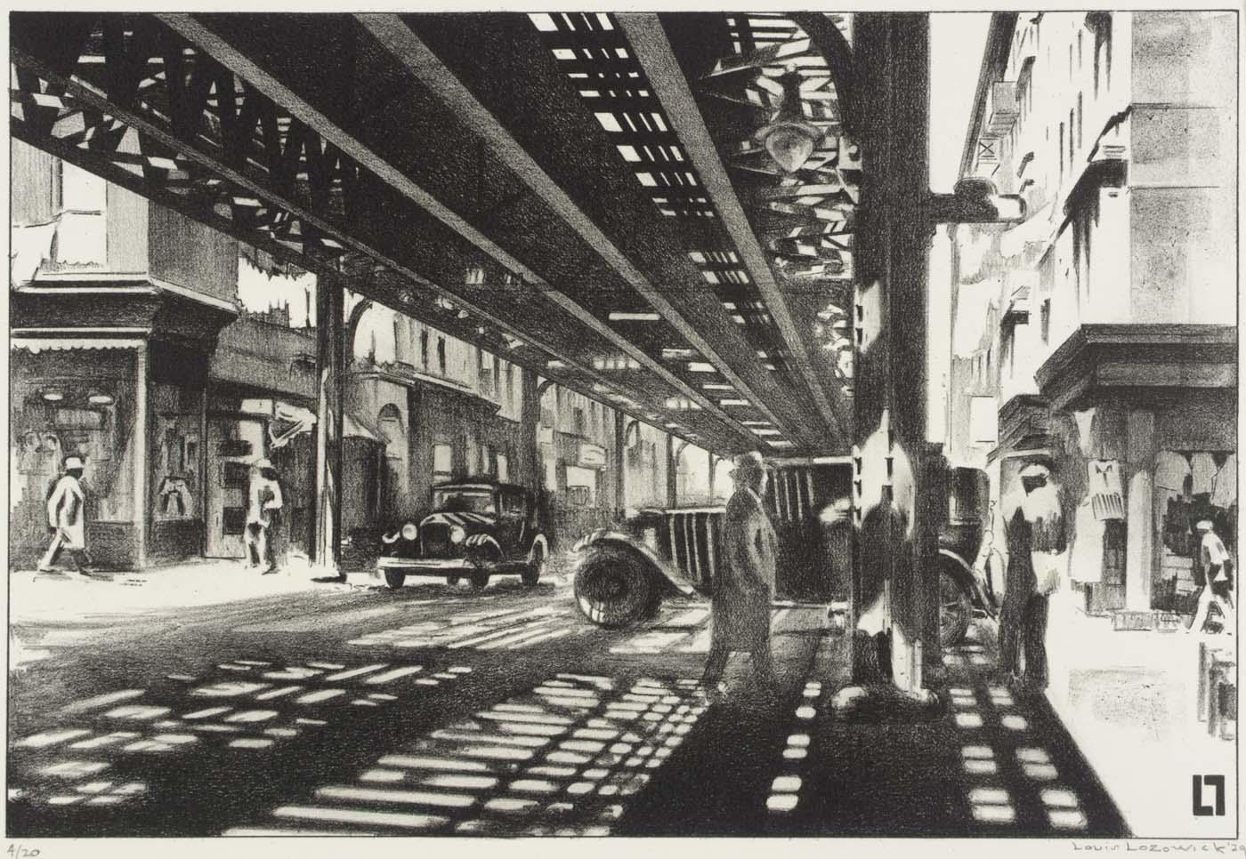 Allen Street, 1929