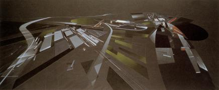 Hadid, Zaha Title Vitra Fire Station Date 1994 Location Weil am Rhein, Baden-Wurttemberg, Germany