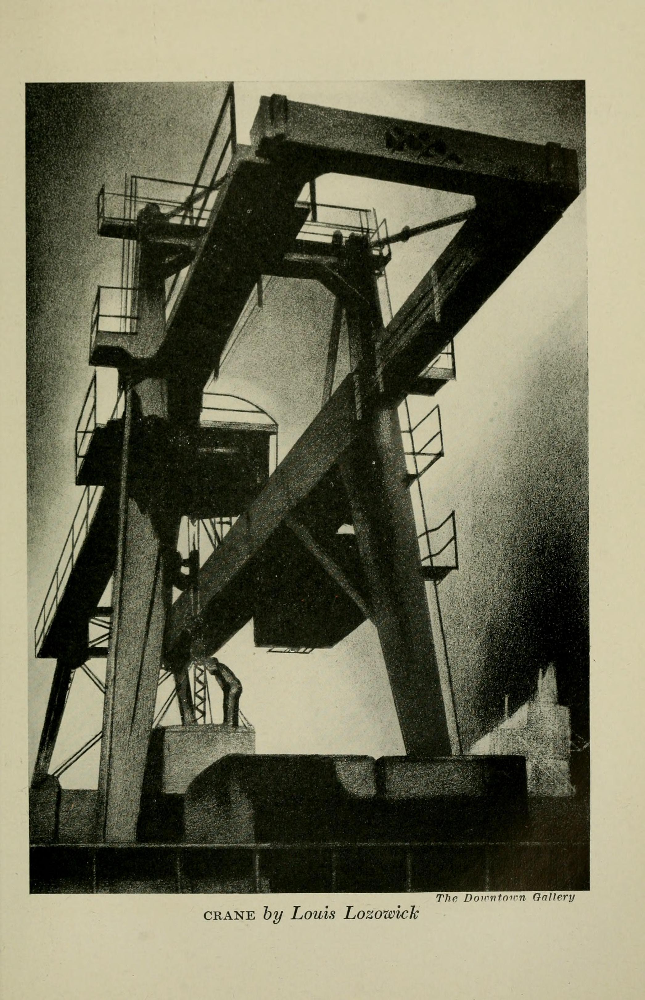 Lozowick crane