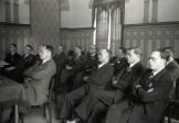 academische zitting van de Guldensporenherdenking in het stadhuis van Kortrijk, 11 juli 1939
