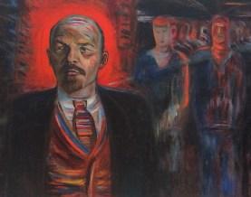 Lenin Ленин LenineЛенин - вождь пролетариата. 1929. Фрагмент. Голополосов Борис Александрович (1900-1983)