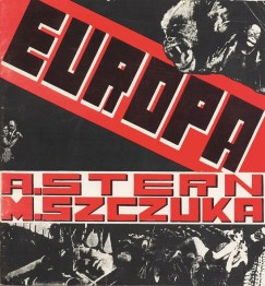 Projekt okładki książki Anatola Sterna w układzie graficznym Mieczysława Szczuki â Europaâ , 1929