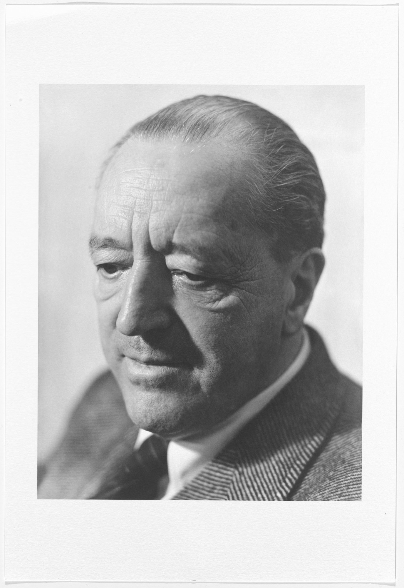 helen-balfour-morrison-mies-van-der-rohe-c-1947-sitter-ludwig-mies-van-der-rohe-pigmented-inkjet-print-19-x-13-48-3-x-33-cm-gift-of-the-morrison-shearer-foundation-northbrook-il