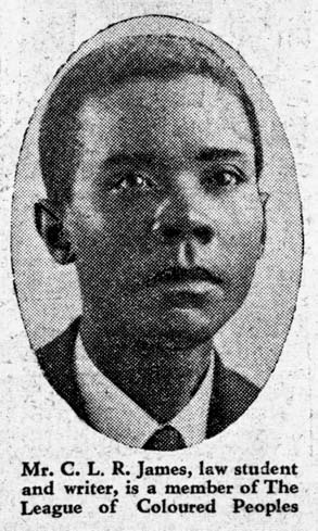 C.L.R. James in 1933
