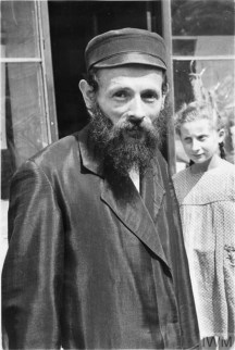 A Jewish man posing for the camera
