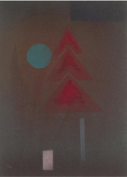 Wassily Kandinsky, Fast Versunken (March 1930)