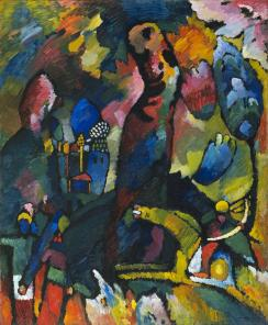 Wassily Kandinsky, Picture with an Archer (1909)