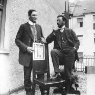 Wassily Kandinsky and Franz Marc, 1911