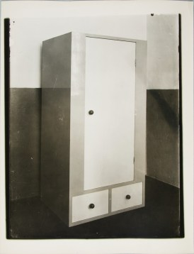 Lucia Moholy, Furniture by Alma Buscher Wardrobe for Children's Room (1924)