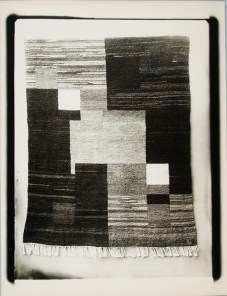 Lucia Moholy, Textile- Unidentified Artist Rug 2