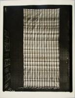 Lucia Moholy, Weaving by Lore Leudesdorff-Engstfeld Sunshade (1923)
