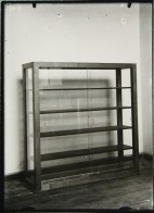 probably Lucia Moholy, Furniture by Marcel Breuer Bookcase (1923)
