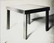probably Lucia Moholy, Table by Marcel Breuer Square Table (1924)