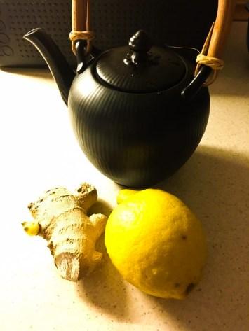 Ginger-Lemon tea