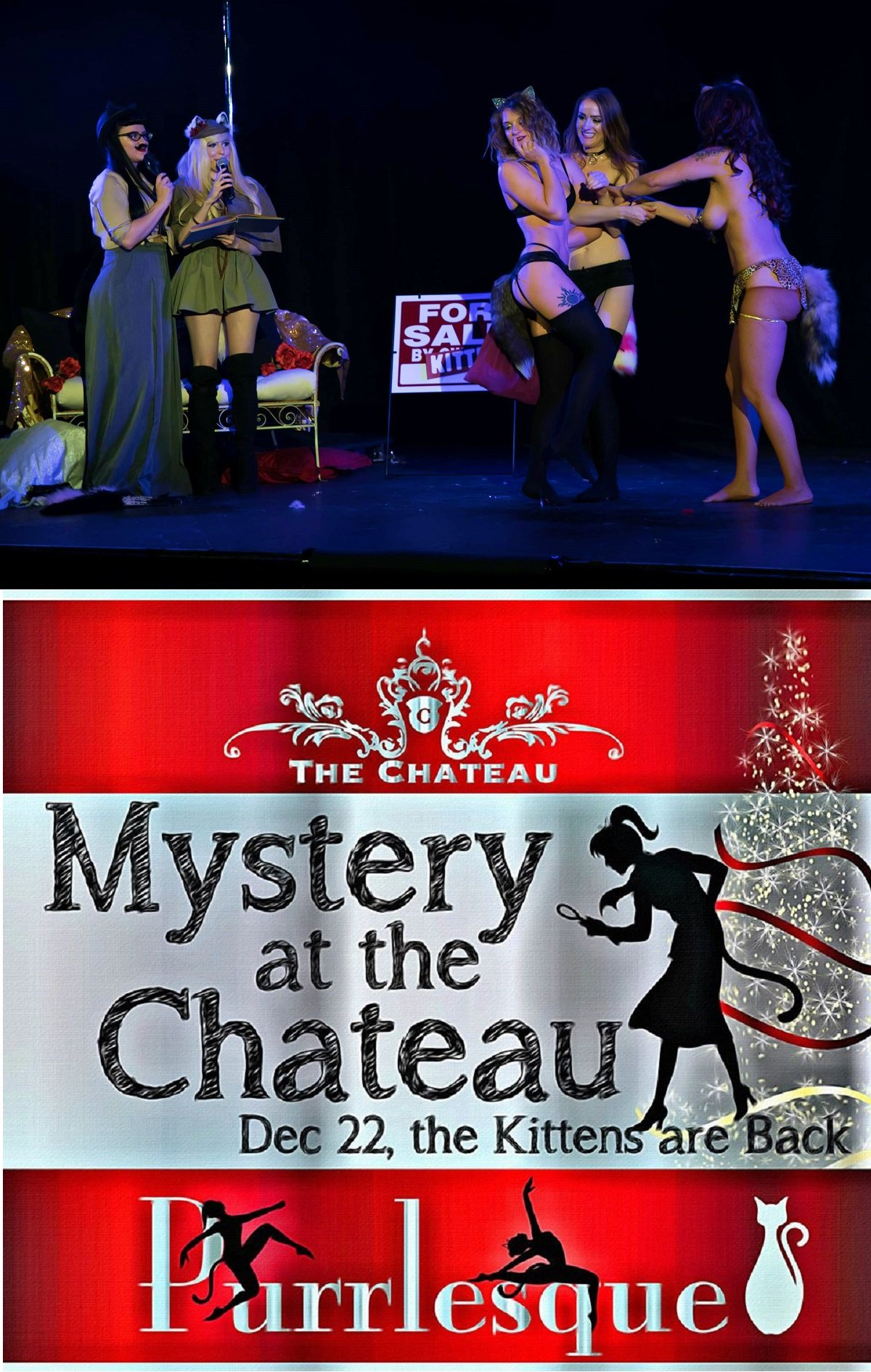 Mystery at The Chateau! Purrlesque Show 2017 post thumbnail