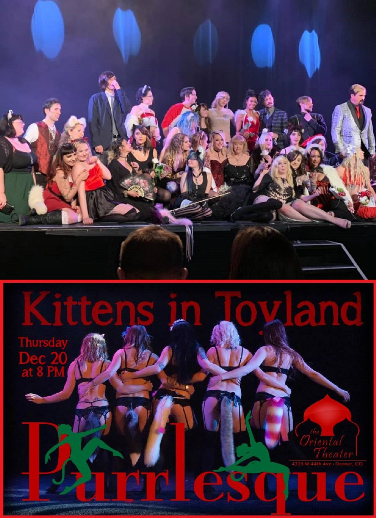 Kittens in Toyland! Purrlesque Show 2018 post thumbnail