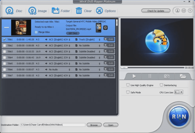 WinX DVD Video Editing Tools