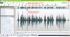 wavepad sound editor paste