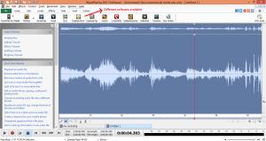 wavepad sound editor suite