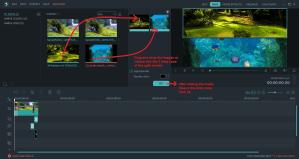 wondershare video editor splitdrop