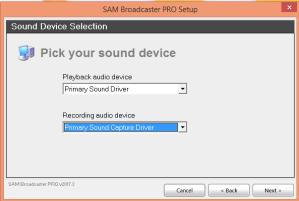 sam broadcaster setup5