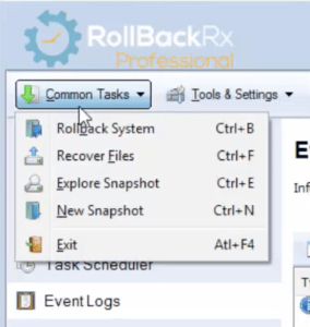 Rollback RX commontask