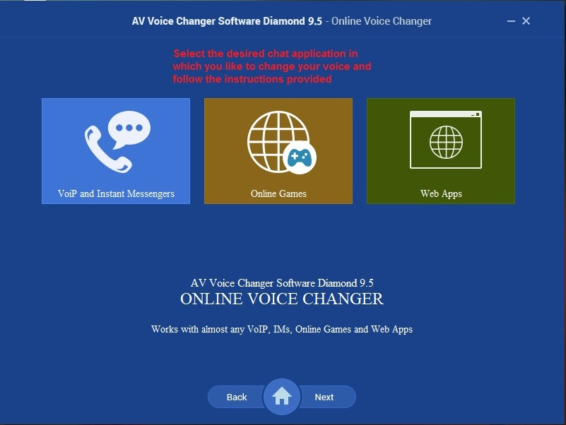 AV Voice changer online voicechanger