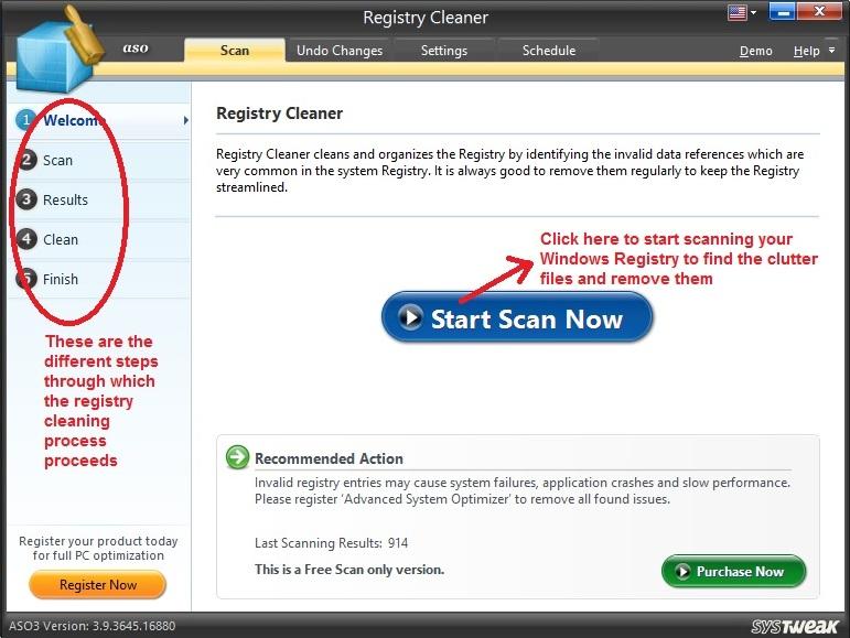 Advanced System Optimizer Registry Cleaner