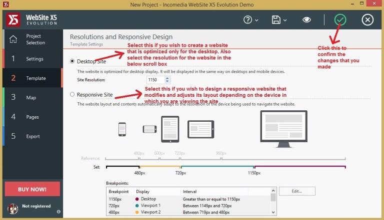 Websiet X5 template_resolutions