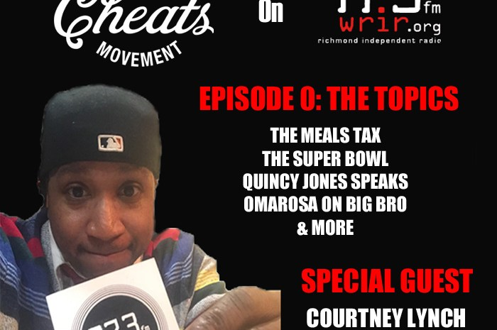 THE CHEATS MOVEMENT ON WRIR: THE RVA MEALS TAX EPISODE