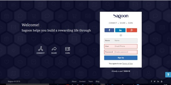 Review App social sagoon