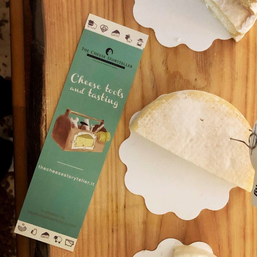 The Cheese Storyteller - laboratorio tools and tasting