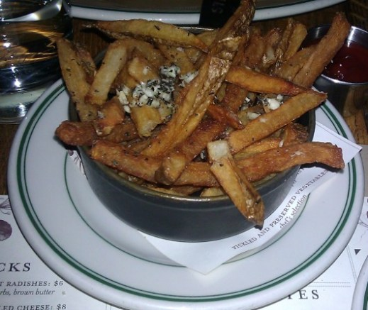 Rosemary Garlic Fries