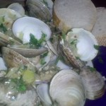 Steamed Clams for lunch