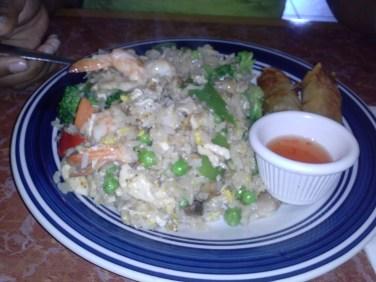 Thai Shrimp Fried Rice-U-Sushi