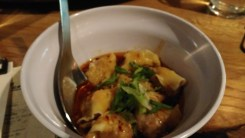 Spicy Wonton Dumplings