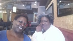 The Chef In Pearls with one of My girls, Cassandra