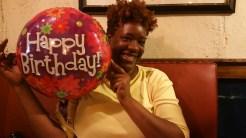 The Birthday Girl and my main photographer, Tonesha Smith